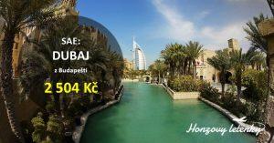 Akční letenky z Budapešti do DUBAJE