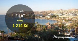 Levné letenky do izraelského EILATU