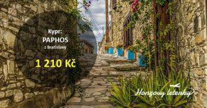 Levné letenky na KYPR