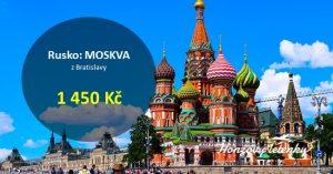 Akce na letenky do MOSKVY