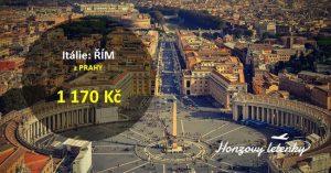 Levně z Prahy do Říma