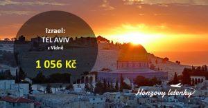 Akční letenky do  TEL AVIVU