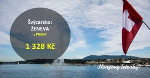 Letenky z Prahy do ŽENEVY