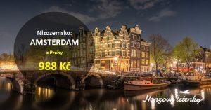 Akční letenky do AMSTERDAMU