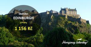 Akční letenky do EDINBURGHU