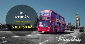 Akční letenky do LONDÝNA