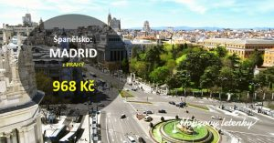 Letenky z Prahy do MADRIDU