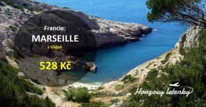 Akční letenky do MARSEILLE