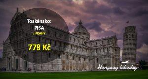 Z Prahy do toskánské PISY