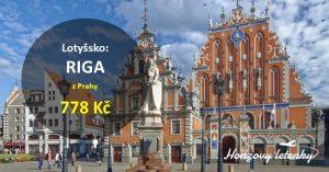 Akční letenky z Prahy do RIGY