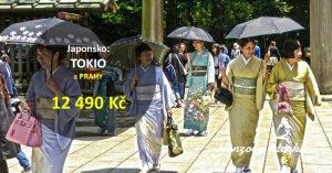 Letenky do JAPONSKA z Prahy