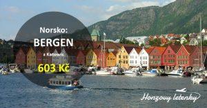 Levné letenky mezi norské fjordy