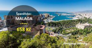 Nejlevnější letenky z Prahy do MALAGY