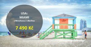 Akční letenky na FLORIDU