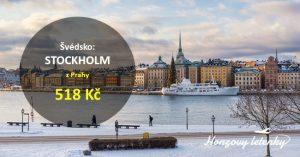 Výhodné letenky z Prahy do STOCKHOLMU
