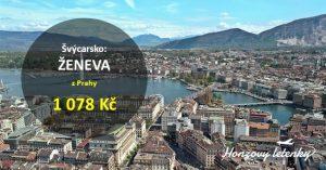 Akční letenky do ŽENEVY
