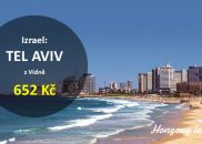 Výhodné letenky do TEL AVIVU