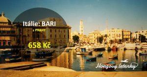 Akční letenky do Apulie
