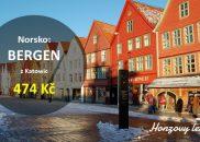 Nejlevnější letenky do norského BERGENU