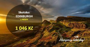 Letenky z Prahy do Skotska
