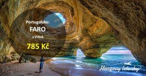 Levné letenky do jižního Portugalska