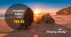 Letenky do portugalského ALGARVE