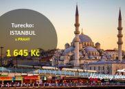 Levné letenky do ISTANBULU