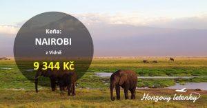 Levné letenky do NAIROBI v Keni