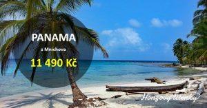 Akční letenky do PANAMY v sezóně