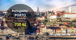 Letenky do portugalského PORTA