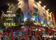 Výhodné letenky do irského DUBLINU