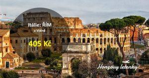 Levné do ŘÍMA