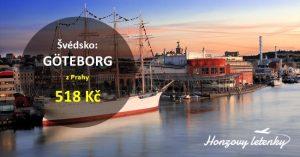 Akční letenky do švédského GÖTEBORGU