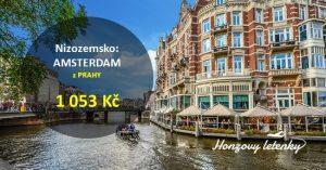 Za parádní cenu do AMSTERDAMU