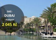 Letenky do DUBAJE za akční cenu
