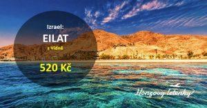 Akční letenky na jih IZRAELE