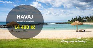 Akční letenky na HAVAJ