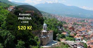 Akční letenky do KOSOVA