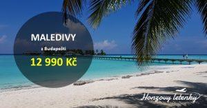 Prázdninové letenky na MALEDIVY