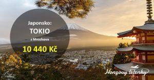 Nejlevnější letenky do JAPONSKA