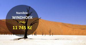 Levné letenky do NAMIBIE