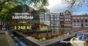 Letní letenky do AMSTERDAMU
