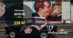 Super levné letenky do BERLÍNA
