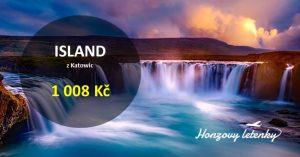 Jarní letenky na ISLAND