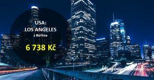 Ještě levnější letenky do LA