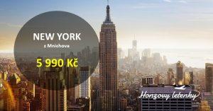 Nejlevnější NEW YORK i s MIAMI