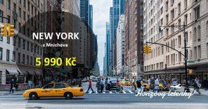 Nejlevněji do NEW YORKU