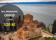 Levné letenky k Ohridskému jezeru