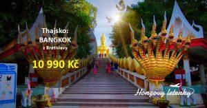 Akční letenky do BANGKOKU