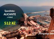Akční letenky na jaro v ALICANTE